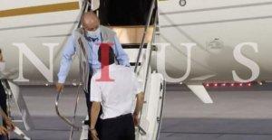 España del ex-Rey Juan Carlos tierras en los EMIRATOS árabes unidos: informes