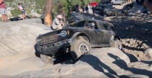 Ford Broncos capturados pruebas en Rubicon Trail