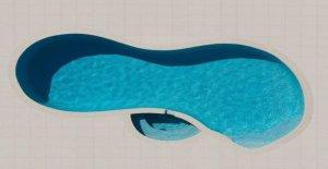 Fotógrafo capta piscinas de más arriba