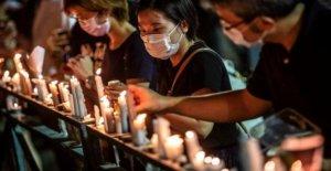 HK activistas entre los 24 acusados de Tiananmen vigilia