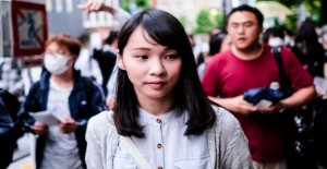 Hong Kong activista de la aclamada como la real Mulan'