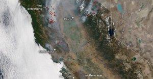Incendios de California dejar 'extensa' cicatrices de quemaduras, la contención crece