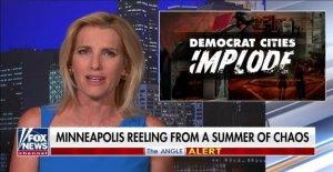 Ingraham: Un Demócrata gana ánimos a los saqueadores en las ciudades, los suburbios