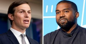 Kushner en reunión privada con Kanye West: 'a Diferencia de otros, yo soy capaz de mantener una amistad a través del pasillo'