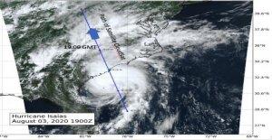 La NASA capta la tormenta Isaías en 'slice' tomadas por satélite