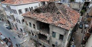 La UNESCO advierte histórico de Beirut edificios en riesgo de colapso