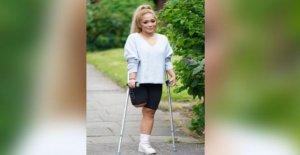 La enfermera, que ignoraba el dolor a la lucha Covid-19 pierde la pierna
