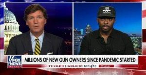 La segunda Enmienda activista Colion Noir reclamaciones Harris ocultar la pistola de la confiscación de los planes de detrás de 'palabras de fantasía'
