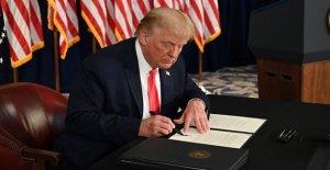 Lo que está en el Presidente de Trump cuatro coronavirus alivio de las órdenes ejecutivas?