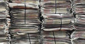 Los medios de jefes 'ahuecado' papeles de Gales noticias