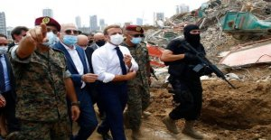Macron advierte a Irán de no interferir en gobierno Libanés reorganización