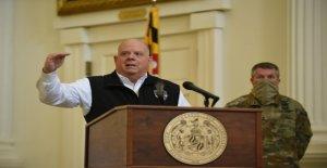 Maryland Gob. Hogan enfrentamientos con los funcionarios sobre el condado de mandato para las escuelas privadas a ir virtual