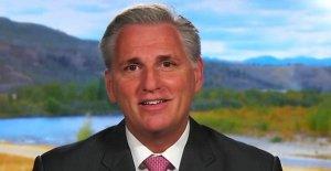 McCarthy culpa de la cámara de representantes del personal de lista de deseos  para coronavirus del proyecto de ley de estímulo fracaso