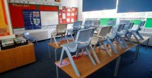 NI las escuelas dado una nueva orientación para la reapertura