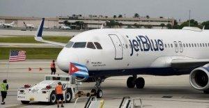 NOS suspende vuelos charter privados a Cuba