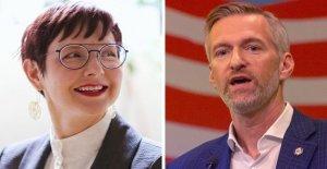 Portland Alcalde Ted Wheeler se enfrenta a la reelección batalla contra el candidato de la izquierda