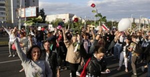 'Práctica generalizada de la tortura contra Bielorrusia manifestantes