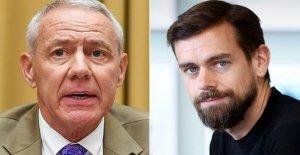 República Buck quiere de Twitter, Jack Dorsey para testificar acerca de 'la censura de los conservadores' y 'acogedor' de la relación con China