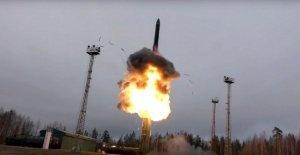 Rusia advierte de que va a ver ninguna entrante misil nuclear