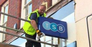 TSB de los clientes de la ira a la banca en línea problemas