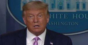 Trump dice ama de casa suburbana' va a votar por él sobre el Biden, cites de bajos ingresos de las políticas de vivienda