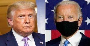 Trump vuelve a Biden después de la llamada, para nacional de la máscara de mandato: 'Deje de jugar a la política con el virus de la'
