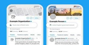 Twitter para etiquetar controlado por el estado de cuentas de noticias
