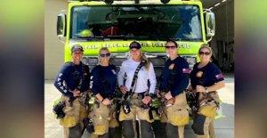 Los bomberos de la Florida de hacer...