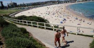 Ciudad australiana tiene más caliente de la noche de noviembre, sobre registro como incendios forestales rabia