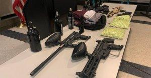 La policía de Chicago detención de 6 en cadena de la pistola de paintball tiroteos