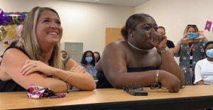 Florida, 19 años, esperó 6 años para ser adoptado por un ex trabajador social