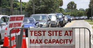 Florida ve más de 21,000 casos de coronavirus el sábado, rompiendo el récord de un día