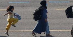 Niña afgana vista en una foto viral...