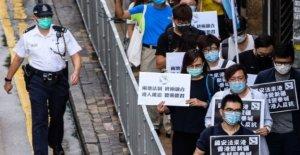 Figuras de la política criticar a Hong Kong ley de seguridad