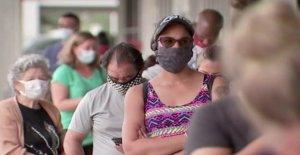 Coronavirus mascarillas debe ser usado en público, QUE dice en una actualización de la guía