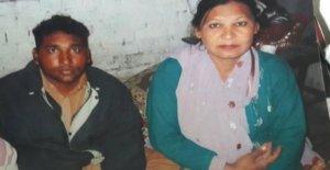 La blasfemia el corredor de la muerte de la pareja de declaración de culpabilidad para la libertad
