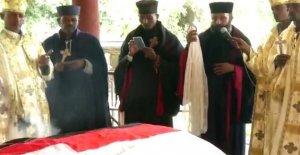 Etiopía disturbios ruge como cantante enterrado