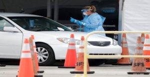 La Florida coronavirus de los casos superior a 200.000, funcionarios anuncian