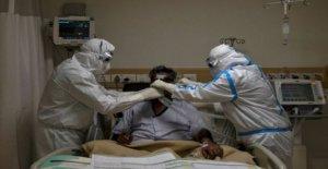 La lucha para mantener la India Covid pacientes respiración