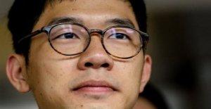 Líder de hong KONG de la democracia activista dice que él está en Londres