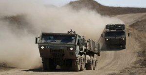 Avión israelí huelgas de los objetivos militares de Siria