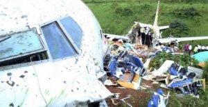 'Cajas negras' de la India se estrelló avión encontrado