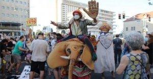La ira crece en Israel contra el 'rey' de Netanyahu