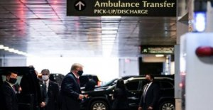 Trump visitas hermano en el hospital de Nueva York