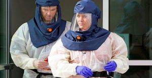 Único día coronavirus casos en los que NOS golpeó récord