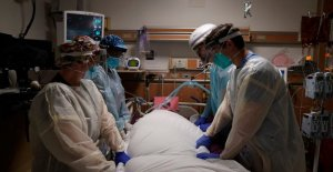 NOS coronavirus de los casos de golpe de 20M marca, hospitalizaciones superar 125,000 para el segundo día
