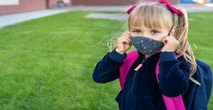 Los autores del estudio argumentan que el uso de máscaras por parte de los niños no debe ser forzado